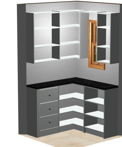 Pantry CAD drawing.